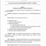 Angat Pilipinas and the Financial Literacy Act for Students (HB 490)