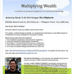 Multiplying Wealth: A Webinar Preparing Beginners for Successful Investing
