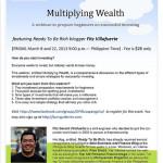 Multiplying Wealth: A Webinar Preparing Beginners for Successful Investing