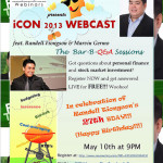 iCON2013 Web Preview/Webcast with Randell and Marvin