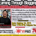 Earning Through Blogging – A Crash Course on How to Build a Profitable Blog