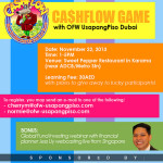 Playing CashFlow and Learning Financially in Dubai