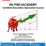 PSE-iACADEMY 4th Run of the Certified Securities Specialist Program