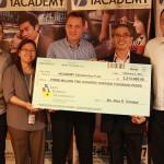 Asian Terminals Inc. donates 3 million pesos to the iACADEMY scholarship fund