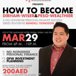 How To Become Dirham-Wiser and Peso-Wealthier (Dubai Event)