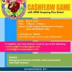 The Cashflow Game Series (Dubai) is Back!