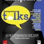 BurnGutierrez.Com at 'Entrepreneur Talks' on May 14, 2014