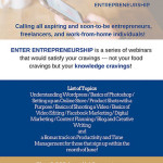 Enter Entrepreneurship Webinar Series