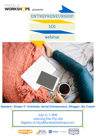 Entrepreneurship 101 Webinar (A Must for OFWs!)