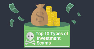 Top 10 Types of Investment Scams (Infographic)