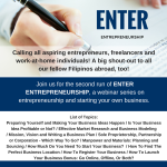Enter Entrepreneurship (Second Run): Starting Your Business The Right Way