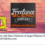 Rock To Riches on Marv de Leon's FreelanceBlend Blab Podcast